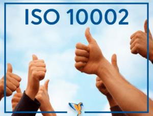 ISO 10002 Müşteri Memnuniyeti